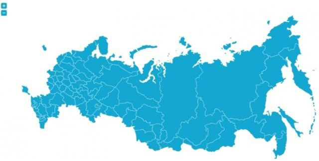 Russian Interactive Map