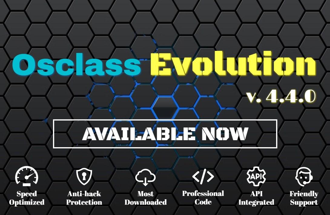 Osclass Evolution 4.4.0